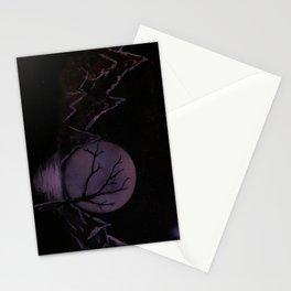 Moon-lit Lake Stationery Cards