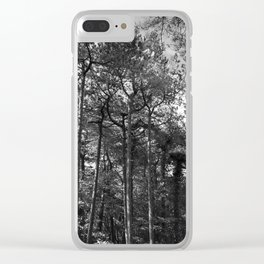 Wood For The Trees Clear iPhone Case