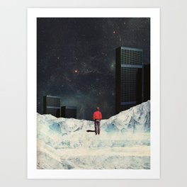 You never came Back for Me Art Print