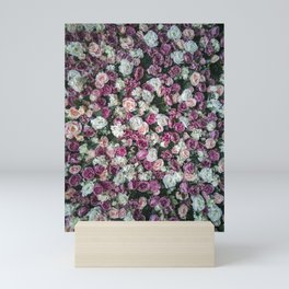 Flower carpet Mini Art Print