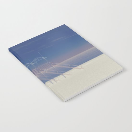 Summer beach Notebook