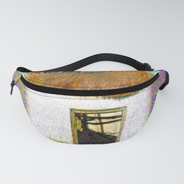 Purple House Fanny Pack