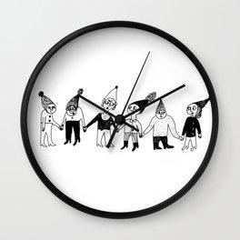hello dwarfs Wall Clock