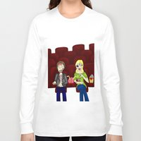 theatre Long Sleeve T-shirts featuring Horror Theatre by Beaston Designs