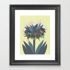 crown imperial Framed Art Print
