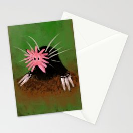 Star-nosed Mole Stationery Cards