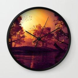 Magic trees Wall Clock