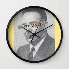 Restrained Wall Clock