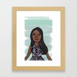 Candice Patton as Iris West Framed Art Print