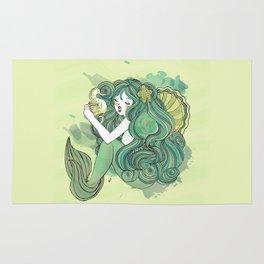 Mermaid Green Rug