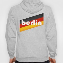 Berlin, with flag colors Hoody