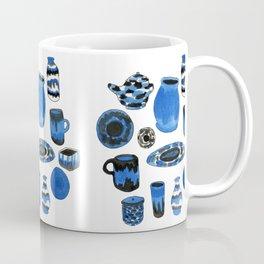 Cobalt Pottery Coffee Mug
