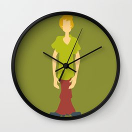 Shaggy Rogers Wall Clock