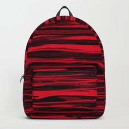 Juicy Red Apple Stripes Backpack