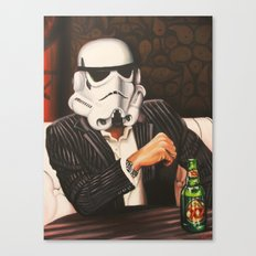 The Most Interesting Trooper in the Galaxy Canvas Print