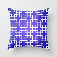 1d Throw Pillows featuring Pattern 1D by Robin Curtiss