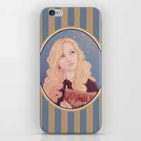 luna lovegood iPhone & iPod Skins featuring Luna Lovegood by JBadgr