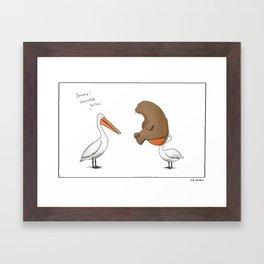 Sensible Bites  Framed Art Print