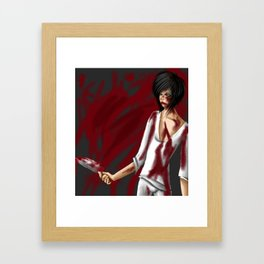 Psycopath Framed Art Print