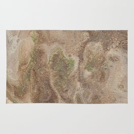 Acrylic Flow #0303 - Cafe Condescension Rug