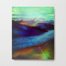 Stunning view of relaxation land Metal Print