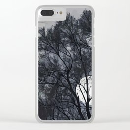 Full Moon Clear iPhone Case
