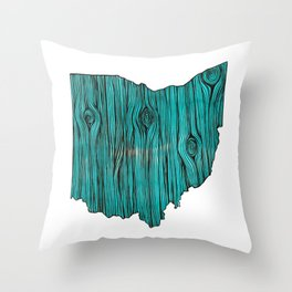 Ohio Tree Throw Pillow