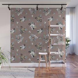 Geometric Quilt Wall Mural