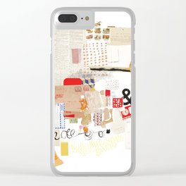 Flea Market Clear iPhone Case