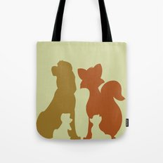 The Fox and The Hound Tote Bag