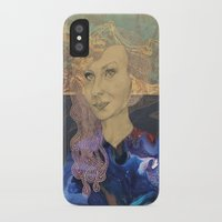 tina fey iPhone & iPod Cases featuring Tina by Nina Schulze Illustration