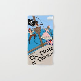 Pirates of Penzance Poster Hand & Bath Towel