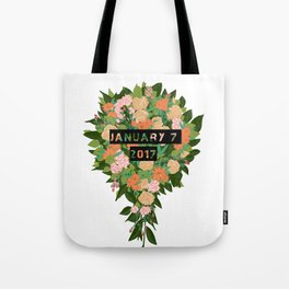 jamie lee wounded arrow Tote Bag