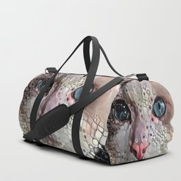 Look Into My Eyes Duffle Bag