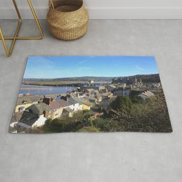 Spring Day At Conwy Rug