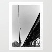 milwaukee Art Prints featuring Milwaukee & Leavitt by Ciara Shook