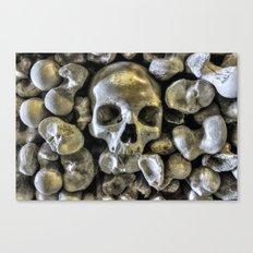 Bone Head Canvas Print