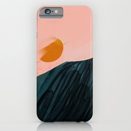 The Sunsets On New Horizons iPhone Case