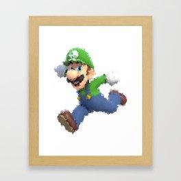 Luigi Framed Art Print