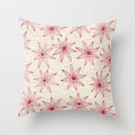 sema cream strawberry Throw Pillow