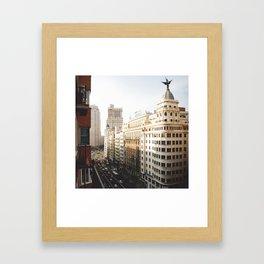 Gran Vía Framed Art Print