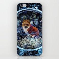 Forest Fox Twilight iPhone Skin