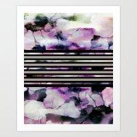 blossom Art Prints featuring Blossom // by Georgiana Paraschiv