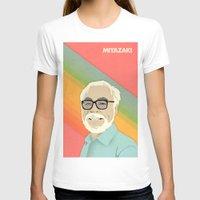 hayao miyazaki T-shirts featuring Miyazaki by Virtual Window