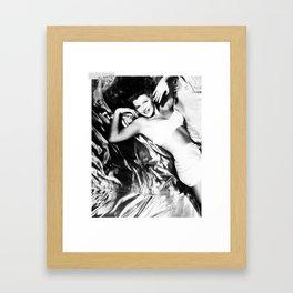 Beauty is in the eyes of ____x Framed Art Print