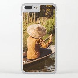 Vivid scene in Burma Clear iPhone Case