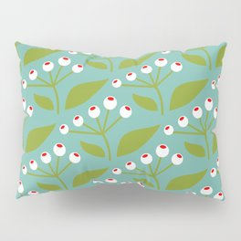 summer on my balcony mint: 70th Lifestyle pattern Pillow Sham