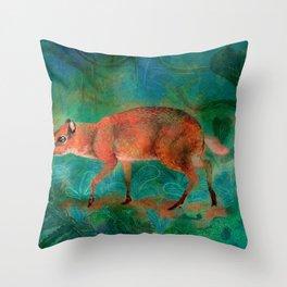 Mouse Deer Throw Pillow
