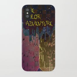 The Color Adventure in The Mistic Areas iPhone Case