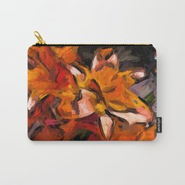 Lilies of Orange 1 Carry-All Pouch